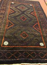 An Attractive Purple Background Color Baluchstan Rug