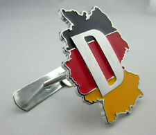 3D Decal Metal Emblem Badge Car Front Grille Side Logo for German National Flag