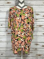 2XL XXL LuLaRoe Irma Disney Goofy Orange White Lime Black NWT