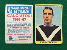 CALCIATORI 1966/67 66/1967 BRESCIA Fabio CUDICINI Figurina Sticker Panini (NEW)