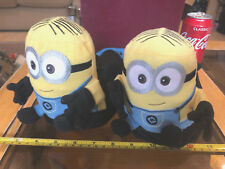 Minions Slippers Despicable Me Children Size Large Soft Toy Cute Official