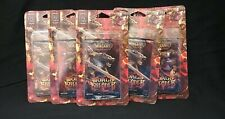 5x Wow World of Warcraft World Breaker Booster Packs Factory Sealed!