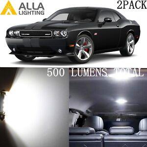 Alla Lighting Dome Map Interior Lights 578 White LED Bulbs for Dodge Challenger