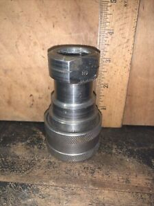 Parker SH62-62 Female Coupler Coupling Quick Connect Used.