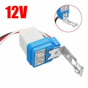 DC 12V 10A Mini Dämmerungssensor Dämmerungsschalter Lichtsensor Twilight Switch
