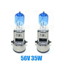 2pcs Scooter headlight 56v 35w Xenon light halogen lamp bulbs For E-Bike