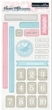 Teresa Collins Sweet Afternoon Chipboard Elements Stickers for Scrapbooking