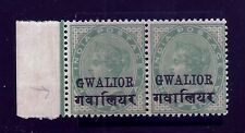 1899-11 GWALIOR SG40gge, tall R & SMAL G QV,INDIA, INDIAN CONVENTION STATES