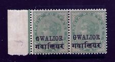 1899-11 GWALIOR SG40gge, tall R & SMALL G QV,INDIA, INDIAN CONVENTION STATES