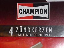 1 Satz = 4 Stück original CHAMPION S9YC Zündkerzen set of spark plugs OVP NEU