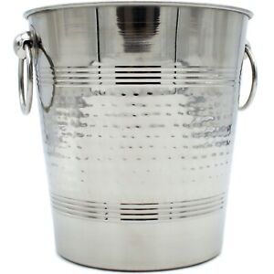 SALE CLEARANCE Stainless Steel Champagne Bucket, Wine Cooler