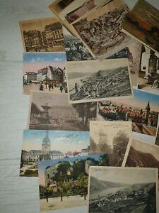 Konvolut 50 Ansichtskarten Deutschland vor1920 ungelaufen teilweise beschrieben