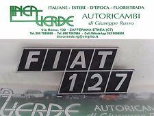 LOGO - SIGLA FIAT 127
