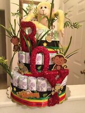 3 Tier Diaper Cake/PERSONALIZE YOUR OWN DIAPER CAKE