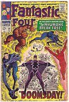 FANTASTIC FOUR#59 FN 1967  MARVEL SILVER AGE COMICS