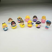 Lot of 10 Fisher Price Little People Princess/Fairy Tale/Random Assorted Cleaned