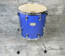 "Pearl Vision VX 14"" x 14"" Floor Tom Drums Schlagzeug RB Blue *TOPZUSTAND*"