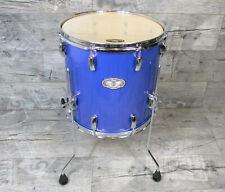 """Pearl Vision VX Birke / Linde 14"""" x 14"""" Floor Tom Drums Schlagzeug RB Blue"""
