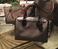SALE! Coach❤️Bennette Jacquard And Leather $350
