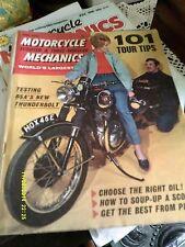 Motorcycle Mechanics( june1967) BSA Thunderbolt/NSU 3KL/ T.T. Atlas/Lambretta/