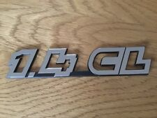 VW Polo 1.4CL Boot badge Emblem 1995 2002 NEW GENUINE