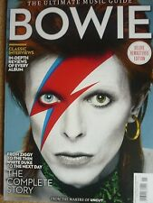 DAVID BOWIE BOWIE THE ULTIMATE MUSIC GUIDE FROM THE MAKERS OF UNCUT NEW