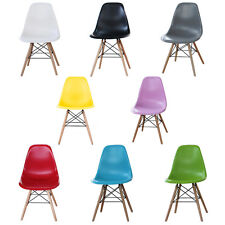 Eiffel Plastic Dining Chair Retro Style Modern Designer New