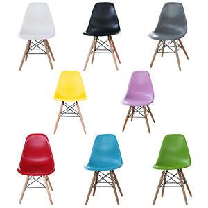Eiffel Plastic Dining Chair Retro Style Modern Designer New