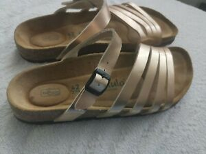 Betula Damen Sandale Schuhe Gr. 42 Bronze Modern Top