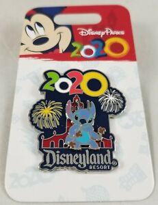 Disney Parks 2020 Lilo & Stitch Disneyland Resort Pin New Chinese New Years