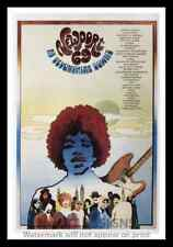 """Framed Vintage Style Rock n Roll Poster """"NEWPORT '69 AT DEVONSHIRE DOWNS""""; 12x18"""