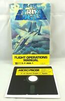 Apple II F-15 Strike Eagle 1984 MicroProse Floppy Disk 5.25 w/ Manual Free Ship