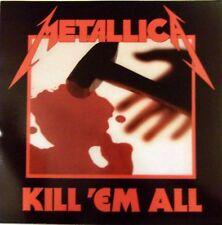 METALLICA LP VINYLE KILL 'EM ALL