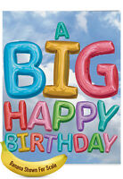 J5651DBDG-US Jumbo Birthday Greeting Card w/ env.