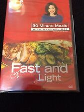 Rachael Ray 30 Minute Meals DVD Fast And Light New Sealed Fast Free Shipping
