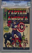 CAPTAIN AMERICA #100 CGC 5.5 OFF-WHITE PAGES