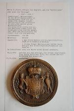 *** Maria I., Königin von England, 1553-1558 - SIEGELABGUSS in BRONCE ***