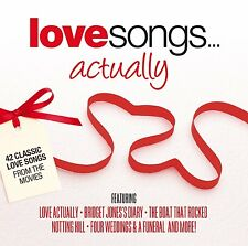 Love Songs Actually Double CD  Brand new and sealed