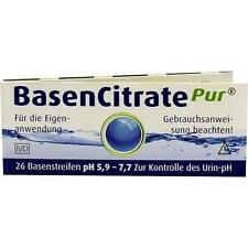 BASEN CITRATE P PH 5.9-7.7 26St Teststreifen PZN:2067497