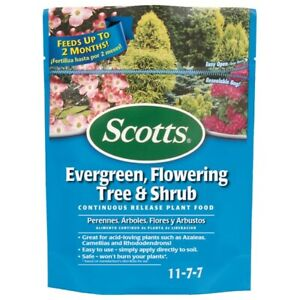 *NEW* Scotts Evergreen Flowering Tree & Shrub Continuous Release Plant Food