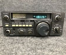 Yaesu FT-77 HF Tranceiver with FM and CW options