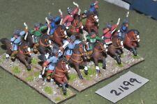 25mm medieval / turkish - seljuk turk horse archers 10 figs - cav (21699)