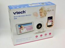 Vtech Wi-fi Hd 5 Touch Screen Video Baby Monitor New-Open Box