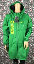 eed03d6161f9 Nike Oregon Ducks Apple Green Women s Rain Windbreaker Jacket Packable Large