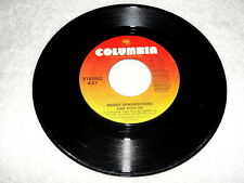 """Bruce Springsteen """"One Step Up / Roulette"""" 45 RPM, 7"""" Single, 1988 Rock, VG+"""