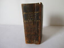 BOOK SKY AND EARTH IN PICTURES AND WORDS OF HOLY SCRIPTURE AND DEVOTIONS 1674