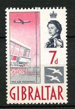 Gibilterra 1960-2 QEII SG#167, 7d definitivo Gomma integra, non linguellato #A58867