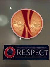 Patch toppa calcio europa league gialla respect champions