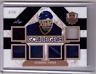 DOMINIK HASEK 17/18 Leaf Masked Men Goalie Gear 6X Patch Jersey  #1/15 SP Card