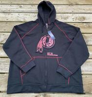 Washington Redskins Hoodie Sweatshirt NWT New 3XL Proline Pro Line Comfy Warm